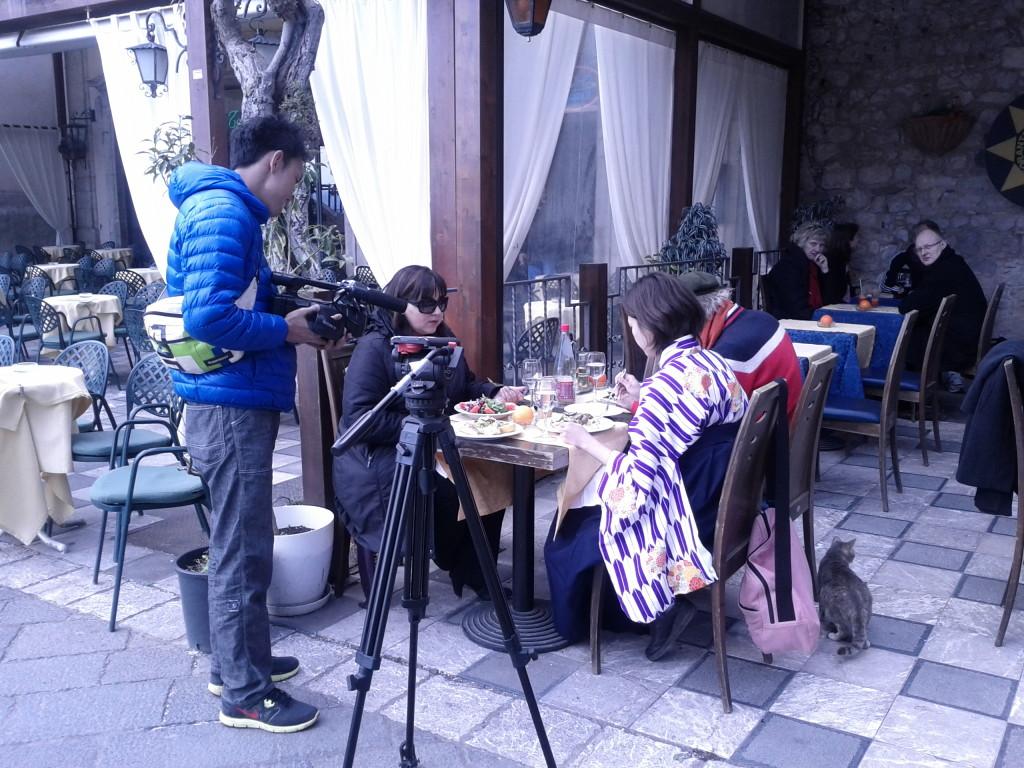 イタリアで撮影コーディネート