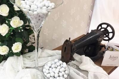 結婚式の際にもらうCONFETTI