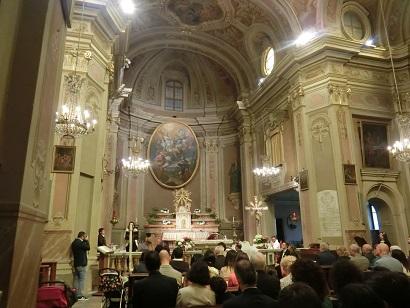 友人の結婚式inトリノ