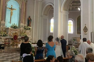 友人の結婚式INメッシーナ